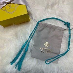 NWT Kendra Scott Phara Lariat Necklace Blue